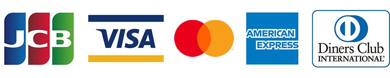 利用できるクレジットカードの種類(オンラインショップ)